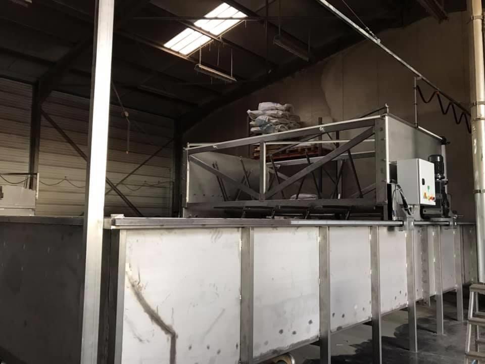 Le trempi germoir, cycle de maltage : trempe et germination de la malterie des volcans