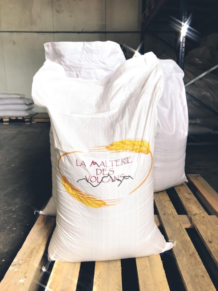 Sac de 25 kg de volcapils bio, malt d'orge bio